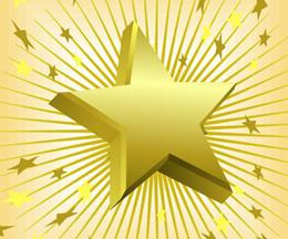 Super Achiever Gold Star