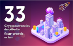 33 Cryptocurrencies Described In Four Words Or Less (Infographic)
